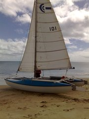 18 foot catamaran caper cat