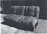 3 Seater Click Clack Sofa Bed