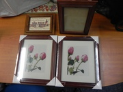 4 Photo Frames Timber styled