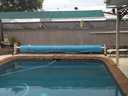 Pool Cover Daisy Wheel movable