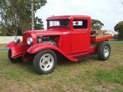 ford pickup 1934 Ford Pickup truck Steel Chopped Big Block Pon