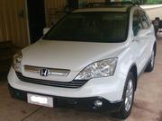 Honda Cr-v 2.4 Honda CRV (4x4) Luxury (2009) white with cream lea