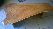 Solid timber (White Cedar) Coffee Table