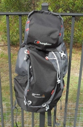 BERGHAUS TRAILHEAD 65 RUCKSACK - LIGHTWEIGHT MULTIDAY BACKPACK