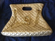 Chanel handbag gold
