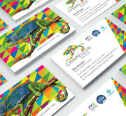 Business Cards,  Full Colour & Matt Cello-glaze