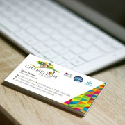 Matt Cello-glaze Business Cards - Chameleon Print Group