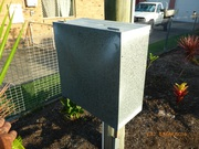 Property Pole and Meter Box
