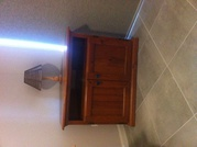 Corner TV unit for sale. $50.00