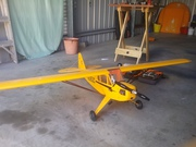 New Rc plane Piper Cub with extras
