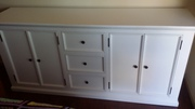 White Timber Sideboard
