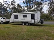 Off Road Gaxaxy caravan 22ft