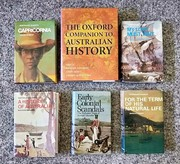 Classic collection of Australian history books