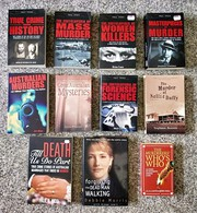 Murder and mystery,  true crime books