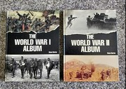 Set of two books on both world wars.
