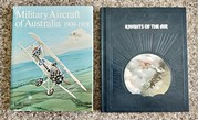 Aviation books on the First World War.