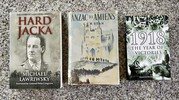 Three books on Great War