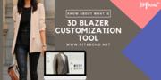 Sell unlimited blazers using 3D Blazer Customization Tool